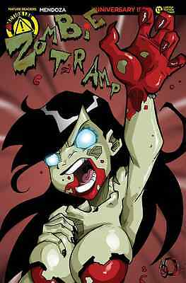 ZOMBIE TRAMP #4 AOD COLLECTABLES THANKSGIVING EXCLUSIVE LIMITED 1 OF 250 COVER