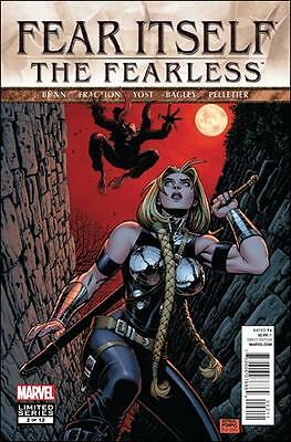 Fear Itself The Fearless #2 (Of 12) Marvel Comics