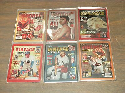 2016 National Set of 6 Beckett Vintage cover promo plates Mantle,Ali, STAR WARS