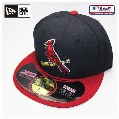 St. Louis Cardinals MLB Authentic Collection New Era Alternate 2 Cap, Hat