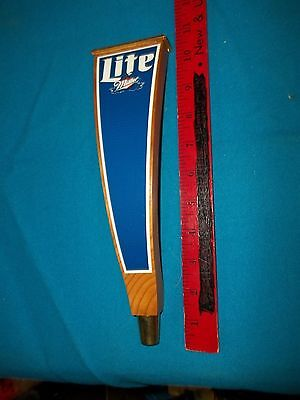 Miller Lite Wooden Tap Handle New Never Used