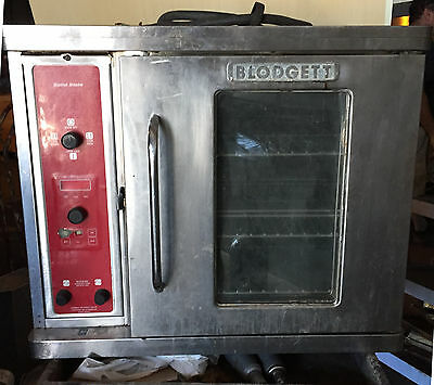 "Blodgett Half Electric Convection Oven Restaurant Bakery Ctb/r    ""c804"""