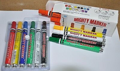 Mighty Marker by Arro-Mark, White, PM-16 style, 1 marker