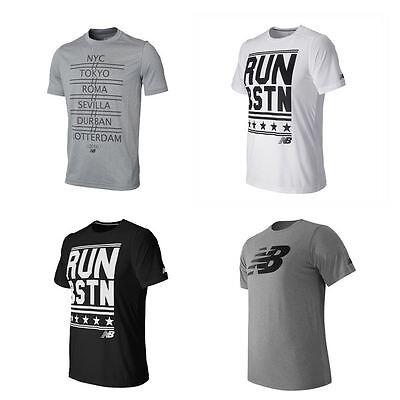 New Balance Men's Short Sleeve Casual Sport Running Fitness T Shirt Cheap