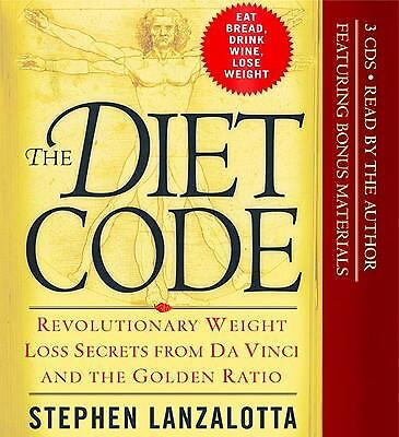 The Diet Code : Revolutionary Weight Loss Secrets from Da Vinci and the Golden