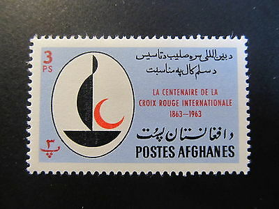 1963 - Afghanistan - Inti. Red Cross Cent. - Scott 662C A210A 3P
