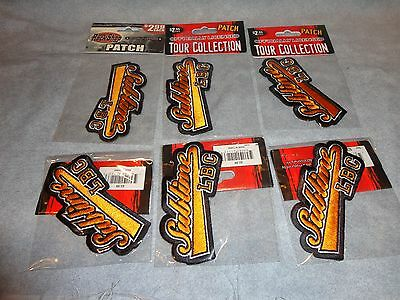 SUBLIME LBC ROCK AND ROLL PATCH set of 6