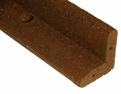 New 4 ft. Brown Flexible Rubber Easy to Install Garden Landscape Edging 6-Pack