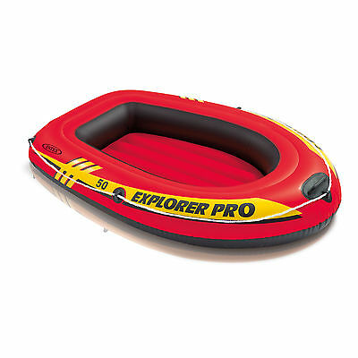 "Intex 54"" x 34.5"" - Explorer Pro 50 1 Small Person Inflatable Boat Raft Dinghy"