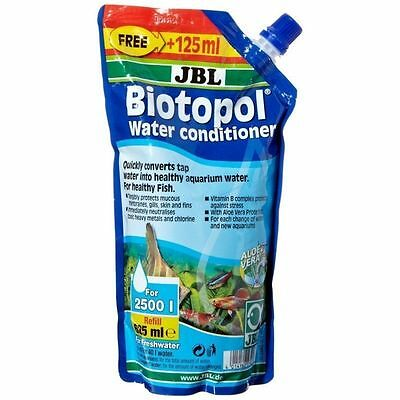JBL Biotopol 625ml (aquarium tap water safe conditioner dechlorinator fish tank)
