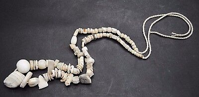 Ancient Egyptian Shell And Stone Bead Late Period Necklace 664-332 Bc