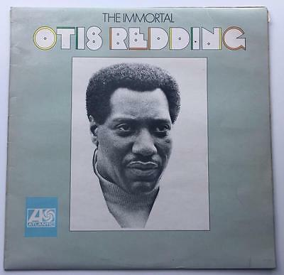 OTIS READING the immortal VINYL LP - UK / 587 113 / PLUM ATLANTIC / 1968 / SOUL