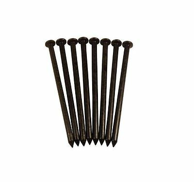 New 0.5 in. W x 8 in. D x 0.5 in. H  Contractor Pack Black Nylon Spikes 32-Count