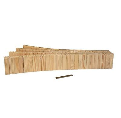 New 5-1/2 in. x 12 ft. Natural Wood Tan Lawn Non Concrete Edging Rot Resistant
