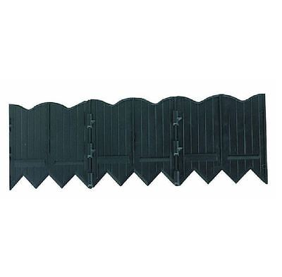 New Black Border Master 20 ft. Recycled Plastic Poundable Landscape Lawn Edging