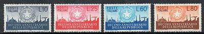 Italy MNH 1956 The 10th Anniversary of the Republic