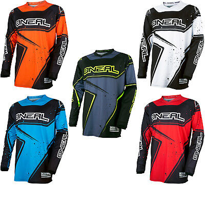 Oneal Element 2017 Racewear Motocross Jersey Breathable Off Road MX Race Shirt