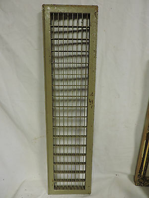 Huge Vintage 1920S Iron Heating Return Grate Rectangular Design 32 X 8