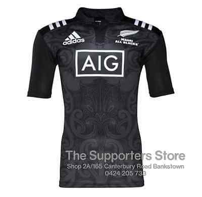 New Zealand All Blacks 2016 Maori All Blacks Jersey Adult & Kids Sizes available