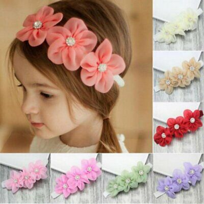 Infant Girl Baby Cute Headband Flower Kid Toddler Hair Band Floral Headwear Cute