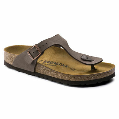 Birkenstock Gizeh Sandals - Mocca - Made In Germany