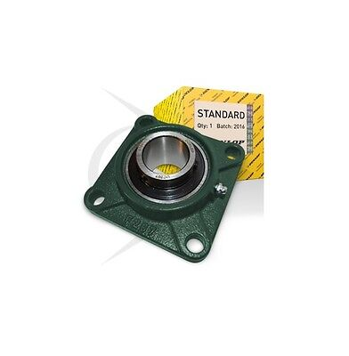 UCF210/50mm Dunlop 4 Bolt Square Flanged Self Lube Housed Bearing