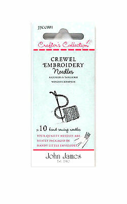 John James Crafters Collection Embroidery 18/22