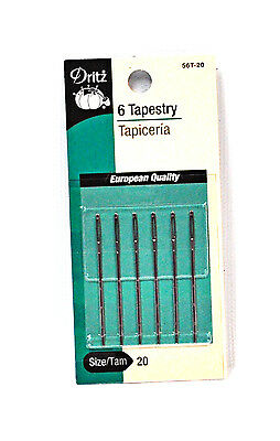 Dritz Tapestry Needles Size 20