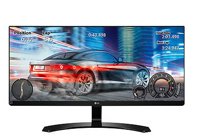 "LG 29"" 21:9 2560x1080 Full HD UltraWide IPS LED Gaming Monitor (29UM68-P)"