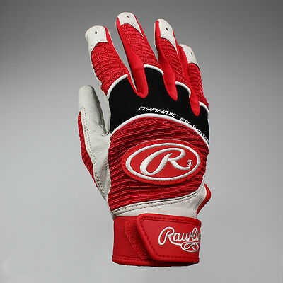 NEW Rawlings Workhorse Youth Batting Gloves Pair - Scarlet Lists @ $36.99