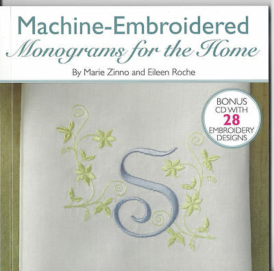 Machine-Embroidered Monograms for the Home Sewing Book