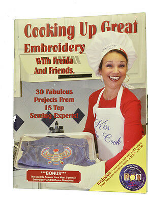 Cooking Up Great Embroidery Book ABCCBK