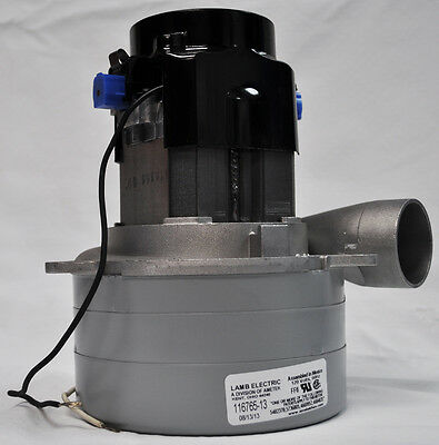 New ametek lamb 3 stage 5 7 central vacuum cleaner motor for Tangential bypass motor central vacuum