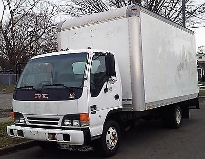 Genuine Gmc / Isuzu 2003 W3500 16 Ft Box Truck