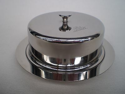 Australian Army Officers Mess Butter Dish - Nos - Coat Of Arms
