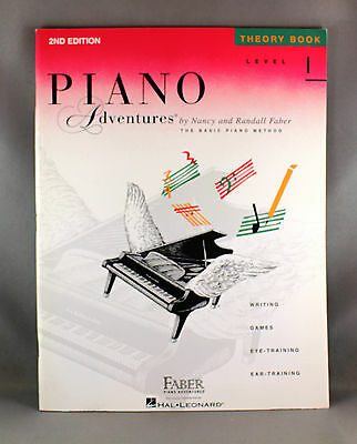 Piano Adventures Level 1 Theory Book 2nd Edition - Brand New