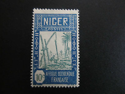 1926/40 - Niger - Drawing Water From Wall - Scott 34 A2 10C