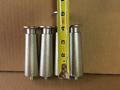 Counter Top Equipment Adjustable Leg Set (4) Flanged Foot