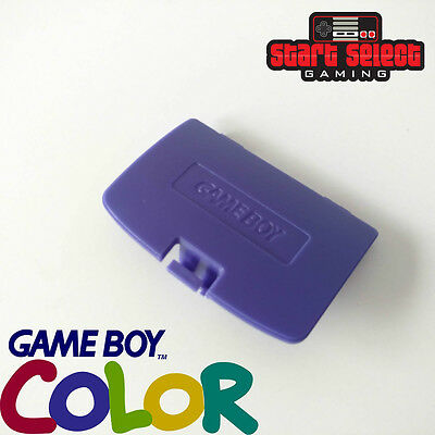 Purple Gameboy Color Battery Replacement Back Cover Lid Nintendo GBC BRAND NEW