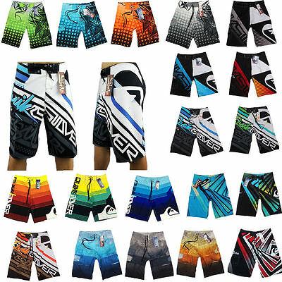 Summer Men's Surf Board Shorts Casual Swim Short Trunk Swimwear Swimming Pants