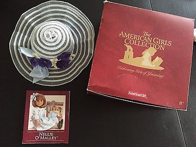 Retired American Girl Doll Nellie Accessory Hat Only Pleasant Co. Samantha Box