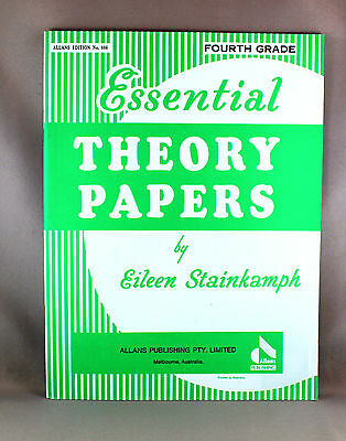 Essential Theory Papers Fourth Grade by Eileen Stainkamph - Brand New