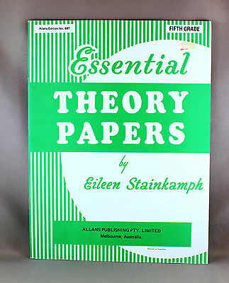 Essential Theory Papers Fifth Grade by Eileen Stainkamph - Brand New