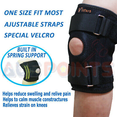 Support Knee Brace - Compression Bandage Sports Sporting Strap Supportive