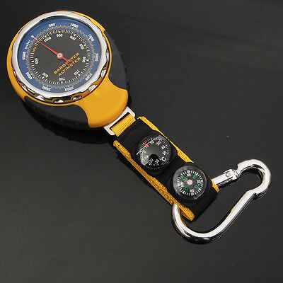 4in1 Altimeter Barometer Compass Thermometer for Outdoor Camping Hiking