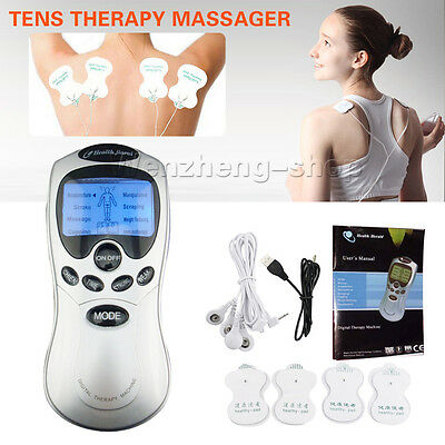 Tens Digital Therapy Massager Machine 8 Pain Relief Modes programs UK SELLER