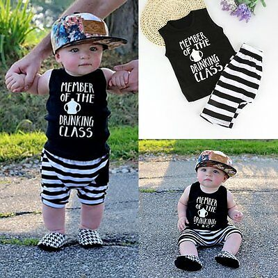 2pcs Toddler Kids Baby Boys T-shirt Tops+Beach Pants Summer Outfits Clothing Set