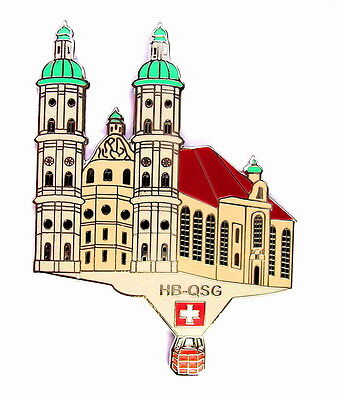 "BALLON ""SPECIAL SHAPE"" Pin / Pins - KATHEDRALE ST. GALLEN / HB-QSG [3386]"