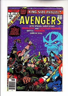 Avengers Annual 7  very rare Double Cover Thanos