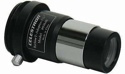 Celestron Telescope T Camera Adapter with Barlow Lens